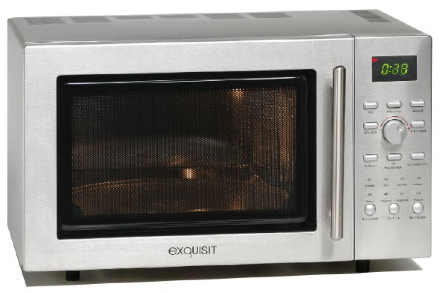 MW ED 8525.3S - micro-ondes, grill et air chaud