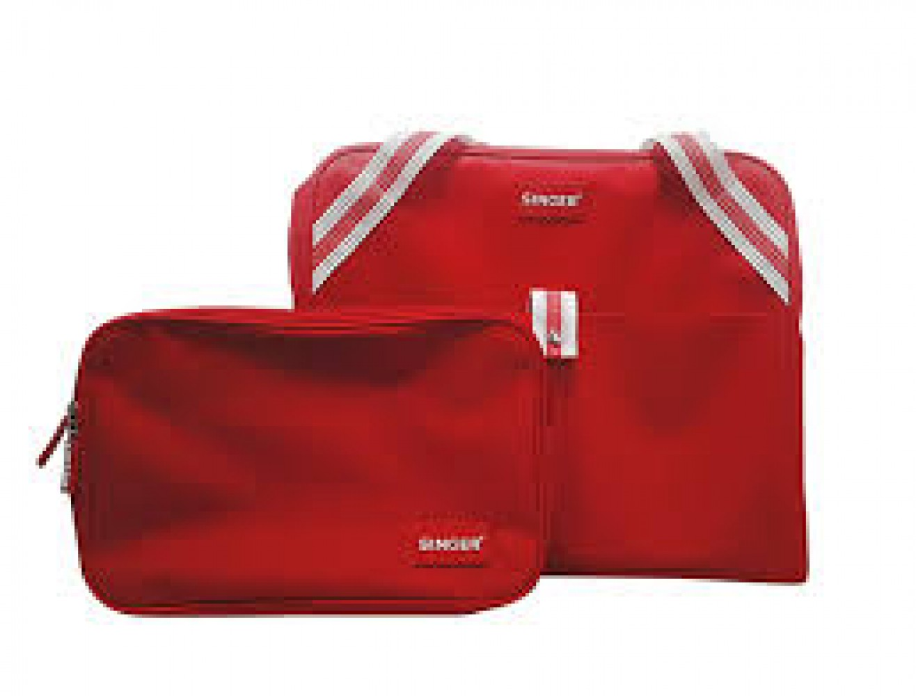 SINGER - Sac de transport - rouge NEW