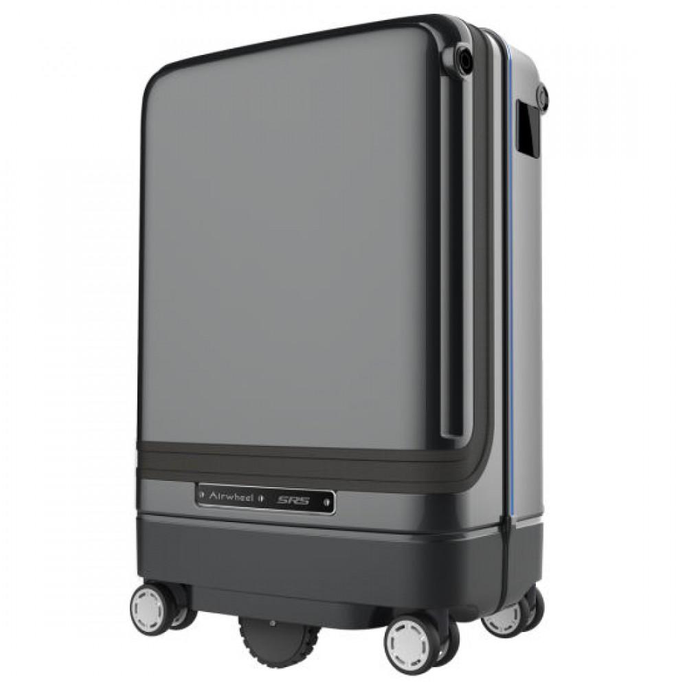 AIRWHEEL SR5 Valise Suivi Automatique Déverrouillage par Empreinte Digitale sécurité, Valise d'embarquement Intelligente