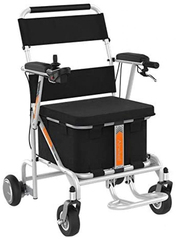 Airwheel H8 Chaise roulante électrique pour intérieur et extérieur avec panier de rangement