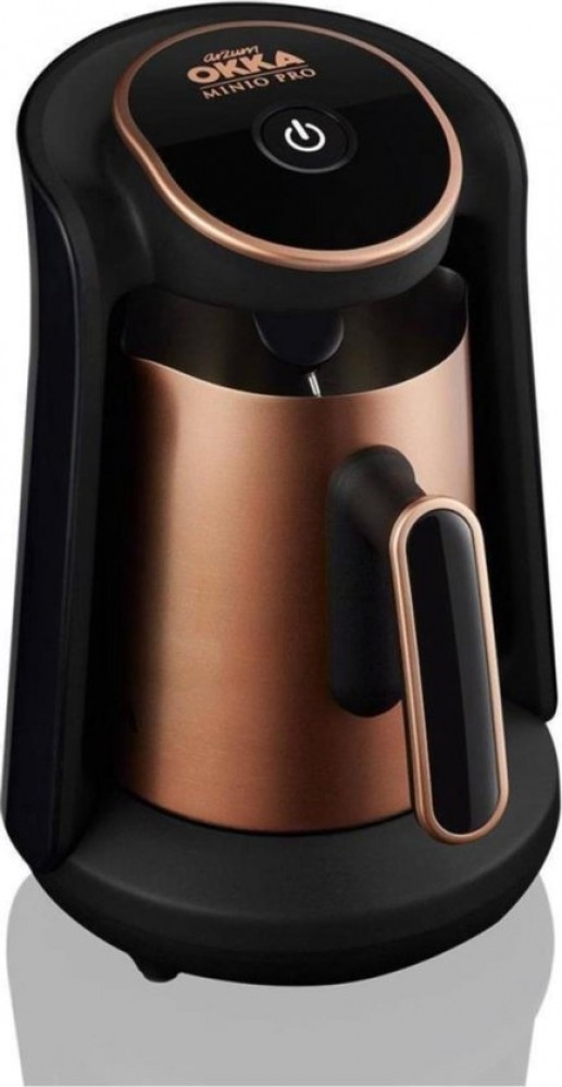 Arzum OKKA Minio PRO - Stalen Koffiepot - OK0010 Copper | Turkse Koffiemachine - | 4 kopjes | Turkish Coffee Maker | Steel Coffee Pot
