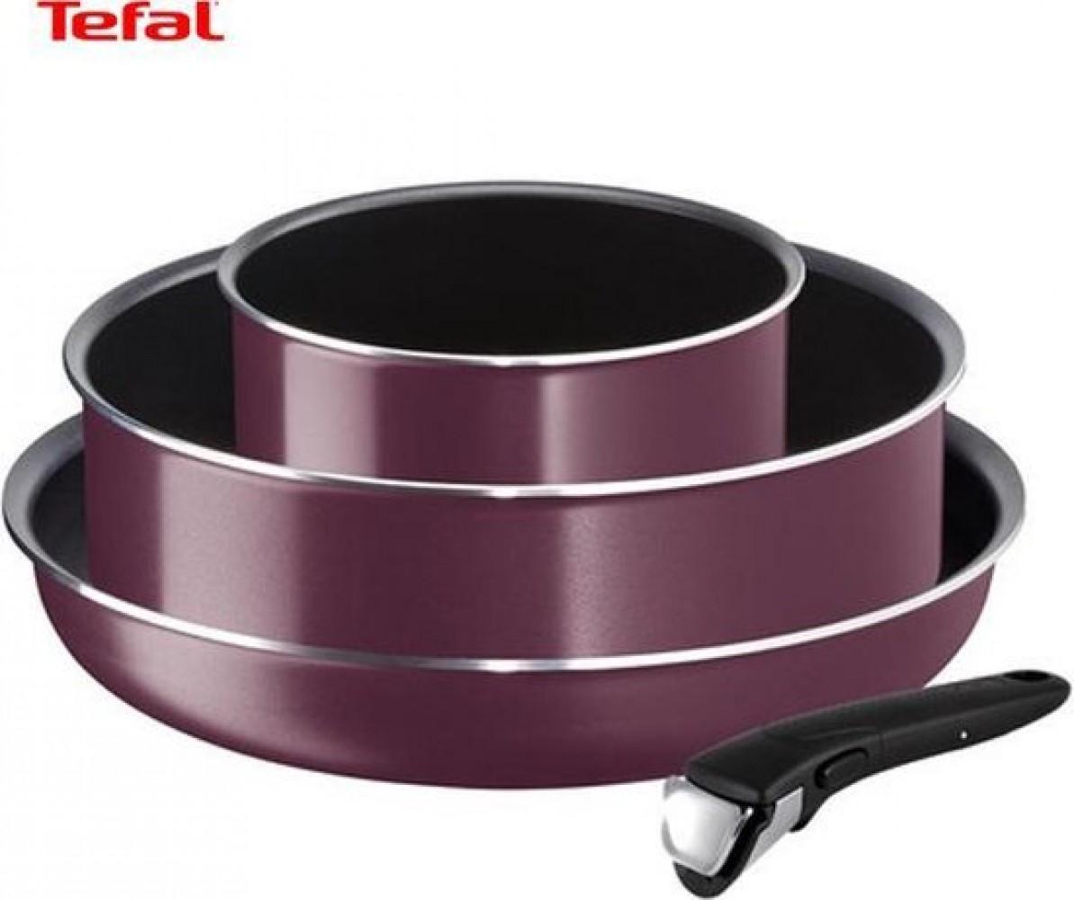 Tefal Ingenio Essential Pannenset - 4 Delig - 18, 24 & 26 cm