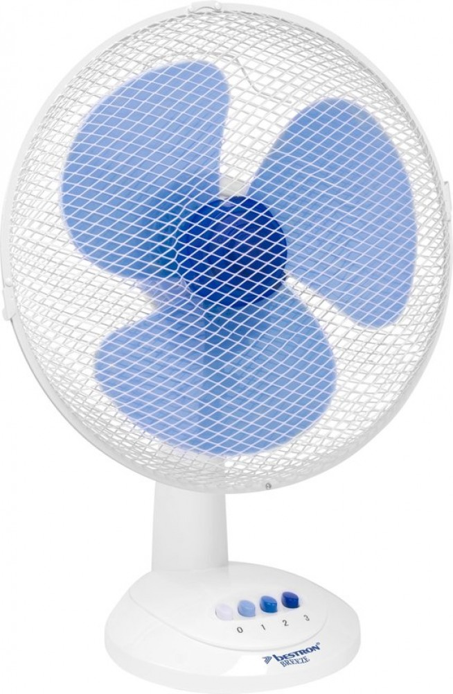 Bestron DDF45W ventilator Blauw, Wit
